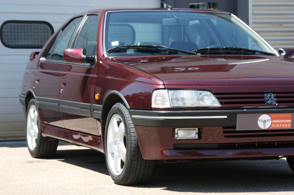 Peugeot 405 t16 voitures vintage for Interieur 405