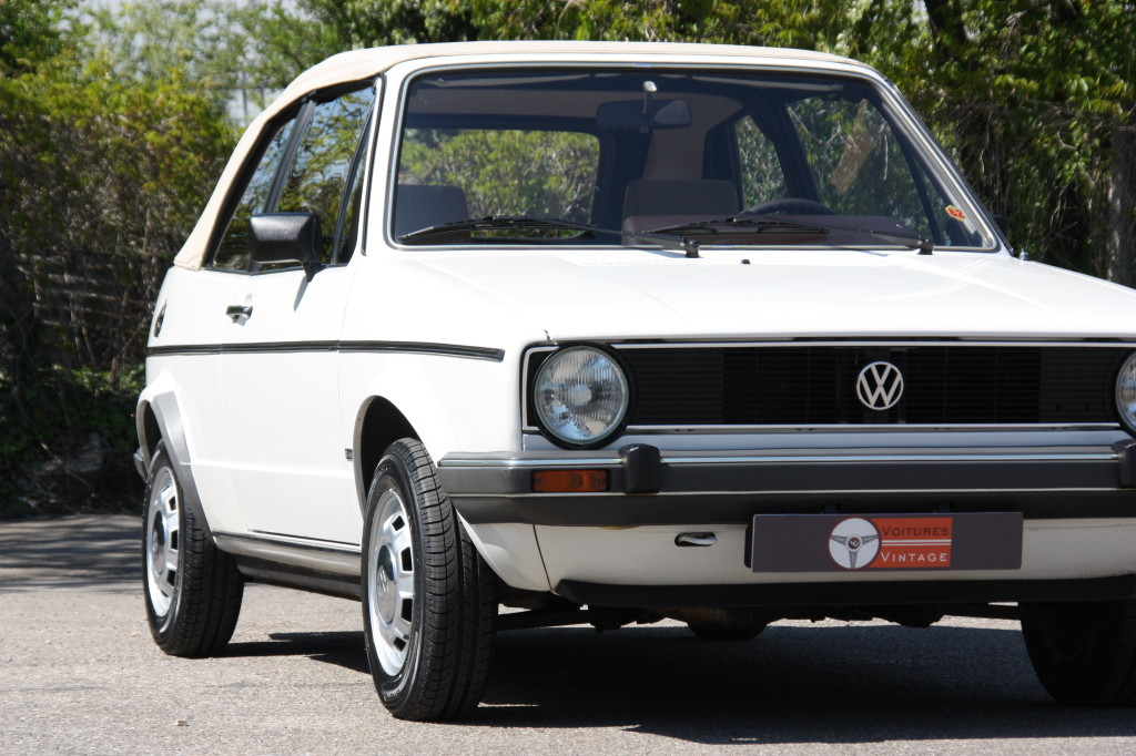 volkswagen golf gl cabriolet voitures vintage. Black Bedroom Furniture Sets. Home Design Ideas